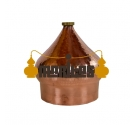 Alambique Columna Rotativa 5 litros + Termómetro + Parrillas de Separación