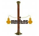 Alambique Columna Rotativa 10 litros + Termómetro + Parrillas de Separación