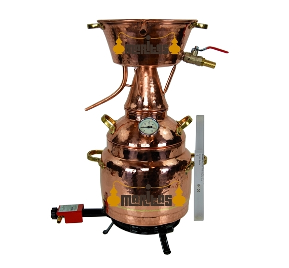 Alquitara Al Vapor 5 litro COMPLETA ELECTRICA