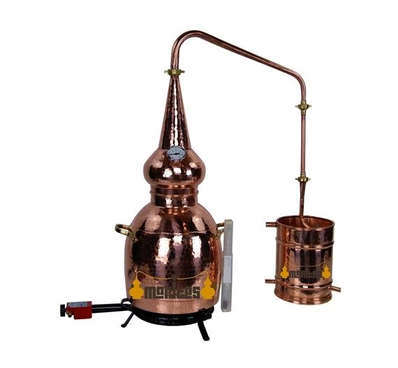 Alambique whisky 10 litros + Termómetro + Alcoholímetro