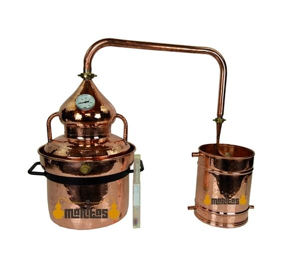 Alambique Hidráulico 10 litros