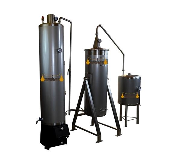 Alambique Inox 100 litros