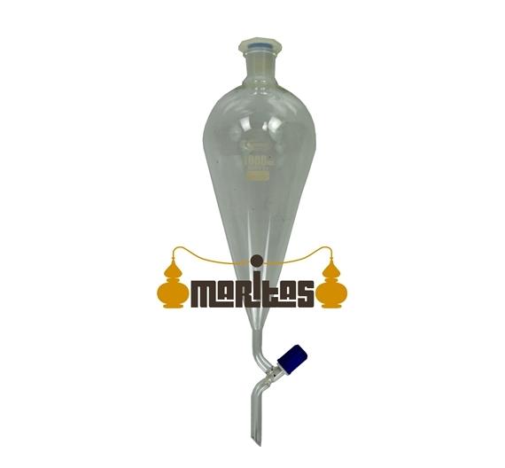 Embudo de Separación 500 ml + Soportes