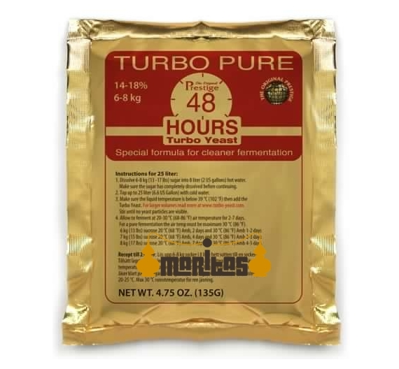 Levadura Turbo Pure 24h