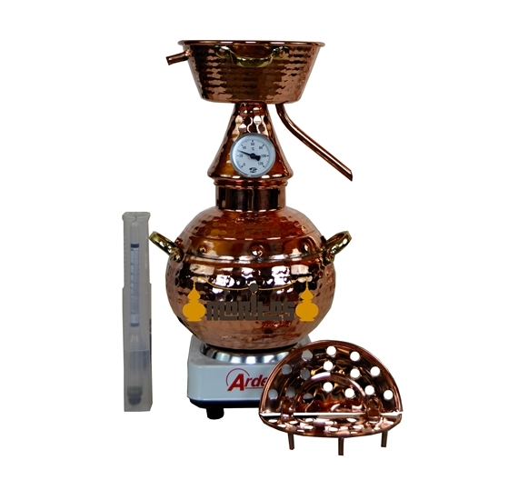 Alqitara Clásica 1.5 litros + Termómetro + Alcoholímetro