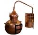 Alambique Clásico 400 litros + Termómetro + Alcoholímetro SÓLIDOS