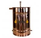 Alambique Clásico 100 litros + Termómetro + Alcoholímetro SÓLIDOS