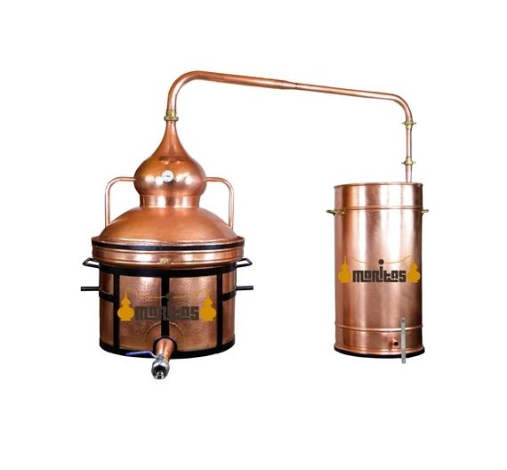 Alambique Hidráulico 100 litros LÍQUIDOS