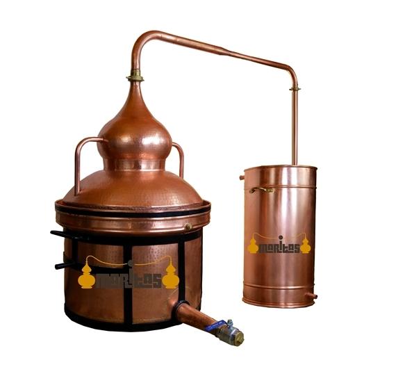 Alambique Hidráulico 100 litros SÓLIDOS