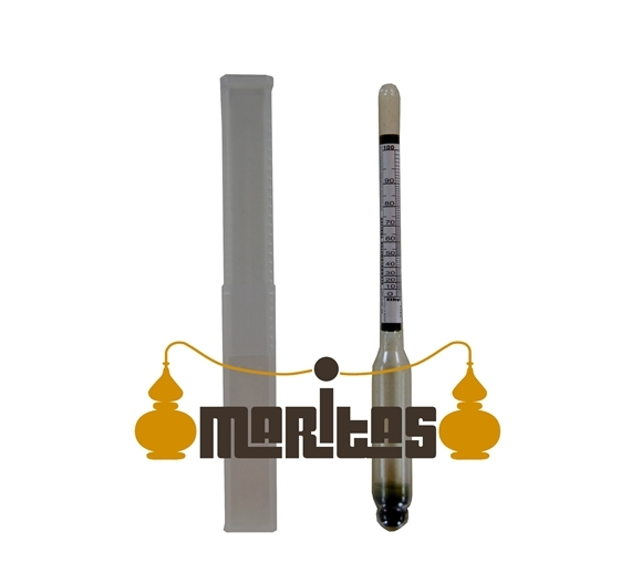 Termómetro 0-120º pequeño con sonda