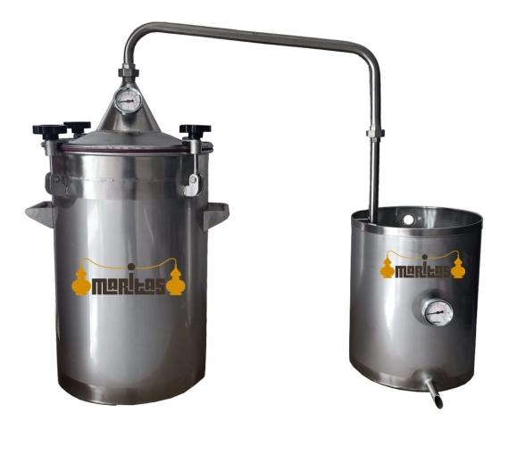Alambique inox  50 litros