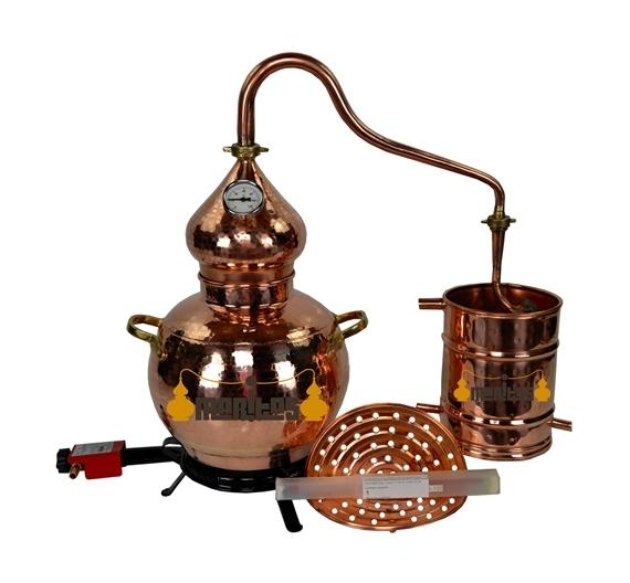Alambique Clásico 5 litros COMPLETO ELÉCTRICO