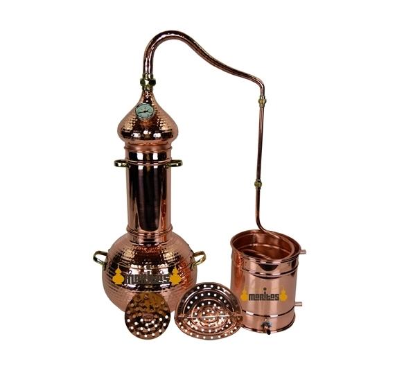 Alambique Polivalente 5 litros + Termómetro + Parrillas de Separación